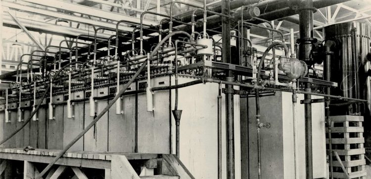 A picture of a larger stuart cell set up