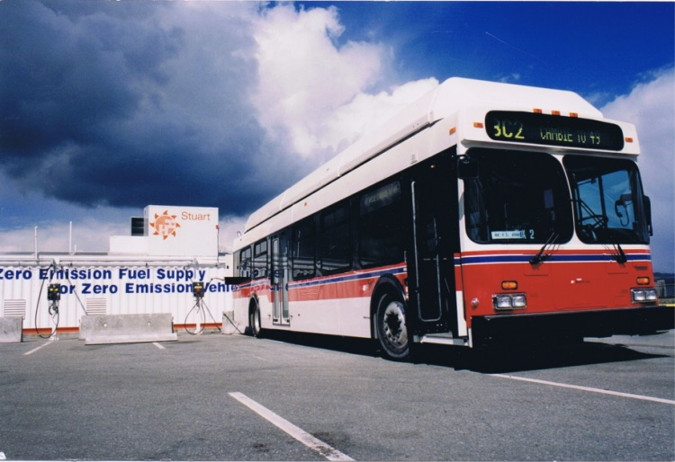 A picture of First Commercial Bus Fuelling Station